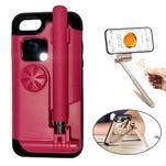Selfie 2v1 obal pre mobil pro iPhone 7 a iPhone 8 s funkcí bluetooth - rose - 1/3