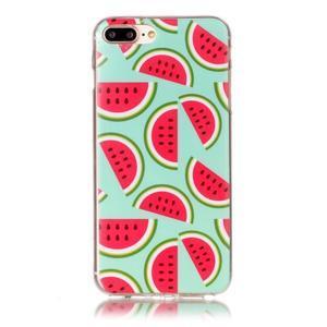 Imope gélový obal pre mobil iPhone 8 Plus a iPhone 7 Plus - melouny - 1