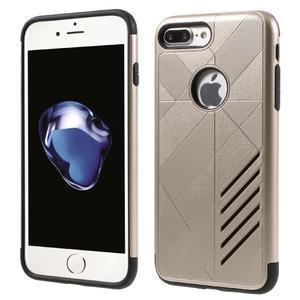 Armory odolný obal pre mobil iPhone 8 Plus a iPhone 7 Plus - zlaté - 1