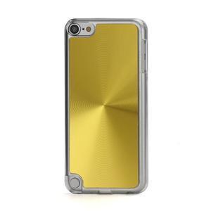 Zen metalický obal na iPod Touch 5 - zlatý - 1
