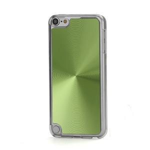 Zen metalický obal pre iPod Touch 5 - zelený - 1