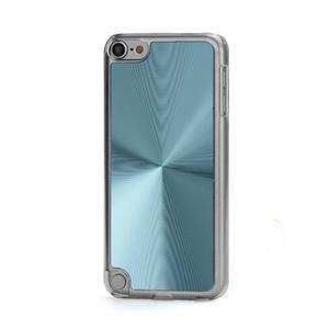 Zen metalický obal pre iPod Touch 5 - svetlomodrý - 1