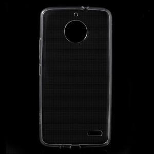 Transparentný gélový obal na Lenovo Moto E4 - 1