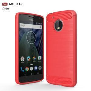 34148f3a2 Odolný gélový obal pre mobil Lenovo Moto G5 - červený - Mpuzdra.sk