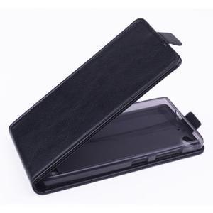 Flipové puzdro na mobil Lenovo Vibe X2 - čierné - 1