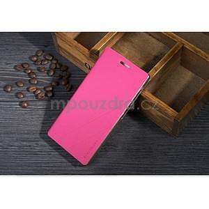 Kožené puzdro na Lenovo Vibe X2 - rose - 1