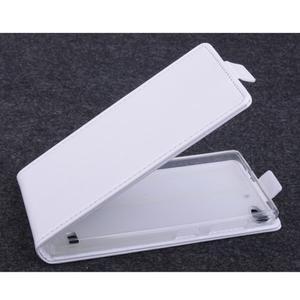 Flipové puzdro na mobil Lenovo Vibe X2 - biele - 1
