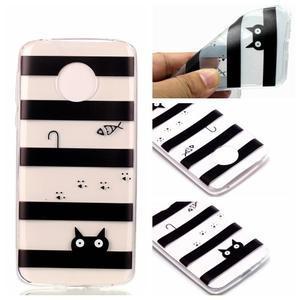 Emotive gélový obal na mobil Motorola Moto G6 Play - mačka - 1