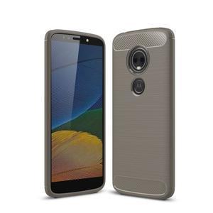 Carbo odolný obal na mobil Motorola Moto G6 Play - sivý