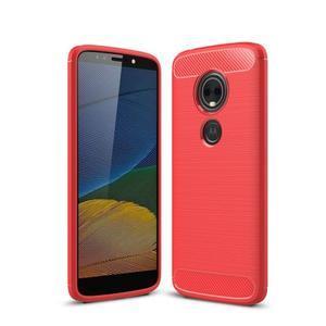 Carbo odolný obal na mobil Motorola Moto G6 Play - červený