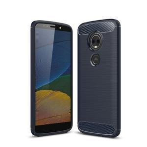 Carbo odolný obal na mobil Motorola Moto G6 Play - tmavomodrý