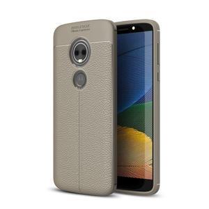 Texture odolný obal na Motorola Moto G6 Play - sivý - 1