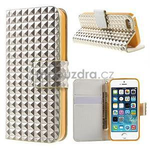 Cool Style puzdro na iPhone 5 a iPhone 5s - champagne - 1