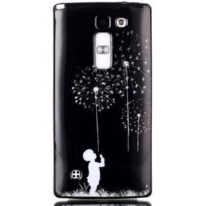 Soft gélové puzdro pre LG G4c - chlapček a púpavy - 1