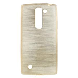Brush gélový kryt pre LG G4c H525N - champagne - 1