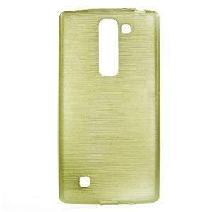 Brush gélový kryt pre LG G4c H525N - zelený - 1