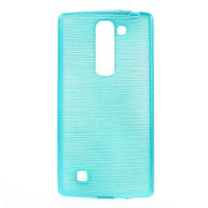 Brush gélový kryt na LG G4c H525N - modrý - 1