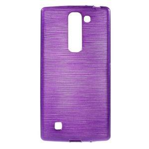 Brush gélový kryt pre LG G4c H525N - fialový - 1