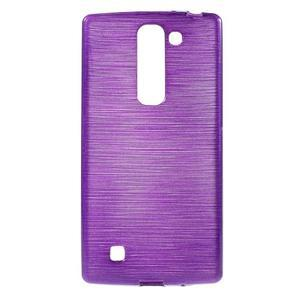 Brush gélový kryt na LG G4c H525N - fialový - 1