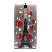 Priehľadný gélový obal pre LG G4c - Eiffelova veža - 1/4