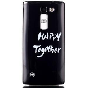 Soft gélové puzdro na LG G4c - happy - 1