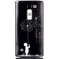 Soft gélové puzdro pre LG G4c - chlapček a púpavy - 1/3