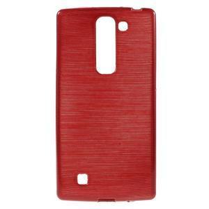Brush gélový kryt na LG G4c H525N - červený - 1