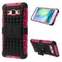 Outdoor odolný kryt pre mobil Samsung Galaxy A3 - rose - 1/7