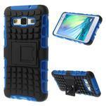 Outdoor odolný kryt pre mobil Samsung Galaxy A3 - modrý - 1/7