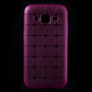 Square matný gélový obal pre Samsung Galaxy Core Prime - rose - 1