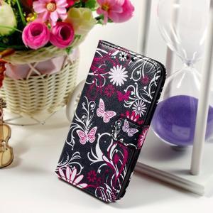 Puzdro na mobil Samsung Galaxy Core Prime - kouzelní motýlci - 1