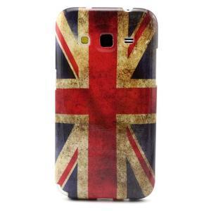 Gélový obal pro Samsung Core Prime - UK vlajka - 1