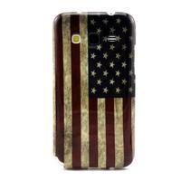 Gélový obal pro Samsung Core Prime - US vlajka - 1/3
