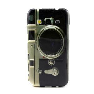 Gélový obal pro Samsung Core Prime - retro foťák - 1