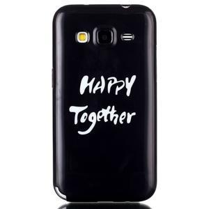 Gélový kryt pre mobil Samsung Galaxy Core Prime - šťastie - 1