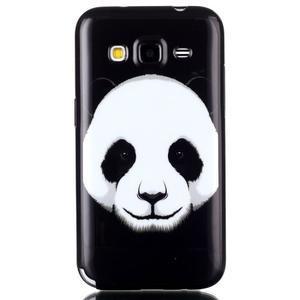 Gélový kryt pre mobil Samsung Galaxy Core Prime - panda - 1