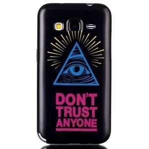 Gélový kryt pre mobil Samsung Galaxy Core Prime - oko - 1