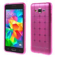 Square gélový obal na Samsung Galaxy Grand Prime - rose - 1/5