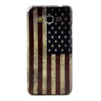 Gélový kryt pre Samsung Grand Prime - US vlajka - 1/3