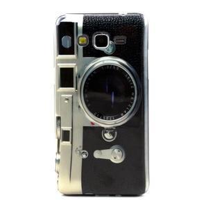 Gélový kryt pre Samsung Grand Prime - retrofoťák - 1