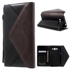 Writes elegantné puzdro pre Samsung Galaxy Grand Prime - čierne - 1