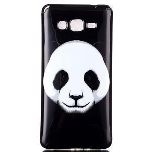 Jelly gélový obal na mobil Samsung Galaxy Grand Prime - panda - 1