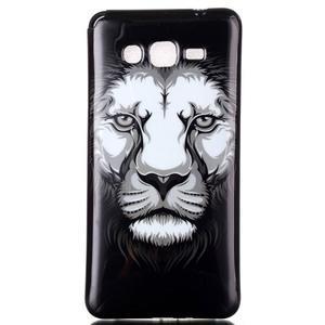 Jelly gélový obal pre mobil Samsung Galaxy Grand Prime - lev - 1