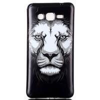 Jelly gélový obal pre mobil Samsung Galaxy Grand Prime - lev - 1/3