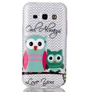 Gélový obal na mobil Samsung Galaxy J5 - dve sovy - 1