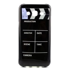 Stylový gélový kryt na Samsung Galaxy J5 -  tv klapka - 1