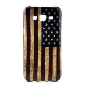 Stylový gélový kryt na Samsung Galaxy J5 -  US vlajka - 1