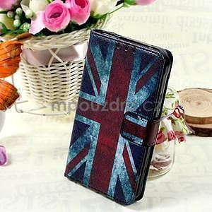 Štýlové peňaženkové puzdro pre Samsung Galaxy Xcover 3 - UK vlajka - 1