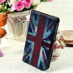 Štýlové peňaženkové puzdro pre Samsung Galaxy Xcover 3 - UK vlajka - 1/7