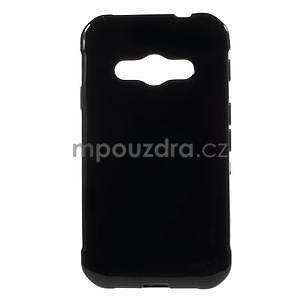 Leklý gélový kryt na Samsung Galaxy Xcover 3 - čierný - 1